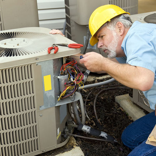 Regular maintenance will improve air conditioner efficiency.