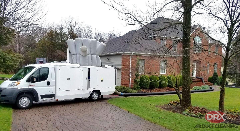 DRX Van Providing Service