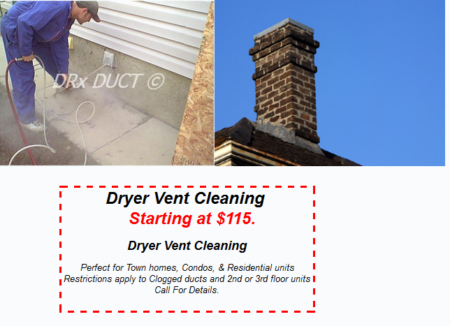 Dryer Vent Cleaning NJ and Chimney Service