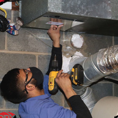 A Duct Gets Cleaned
